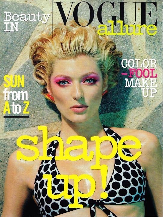 Sophie Sumner - Beauty In Vogue Magazine Cover