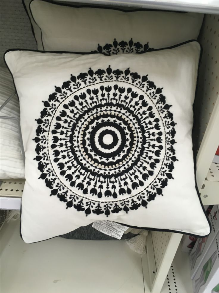 10 Modern Home Decorating Ideas That Ll Transform Any Traditional Space With Images: Mandala Pillow, Found At Oviedo Target