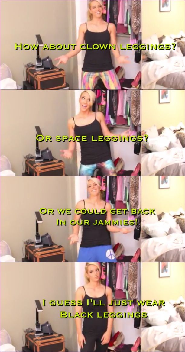 Jenna marbles how girls get dressed!(: