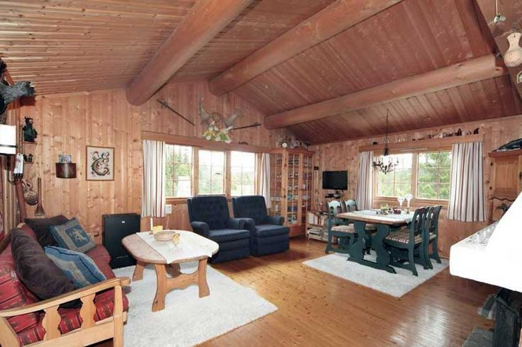 Интерьер дачного дома в Норвегии