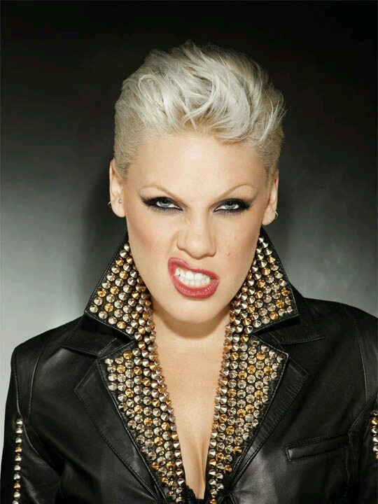 P!nk - September 8 | Love this pic! I love the many faces of P!nk! I love P!nk