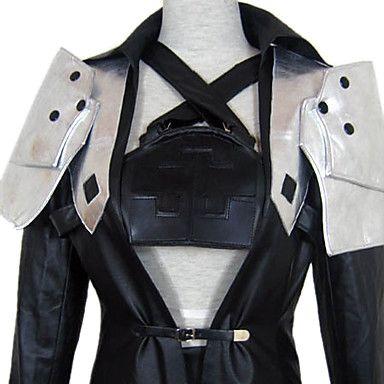 Sephiroth jacket, shoulders