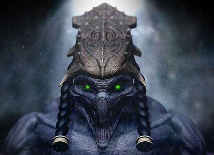 ArtStation - Protoss, Christian Garrido #Protoss #Blizzard #Monster #Creature #3D