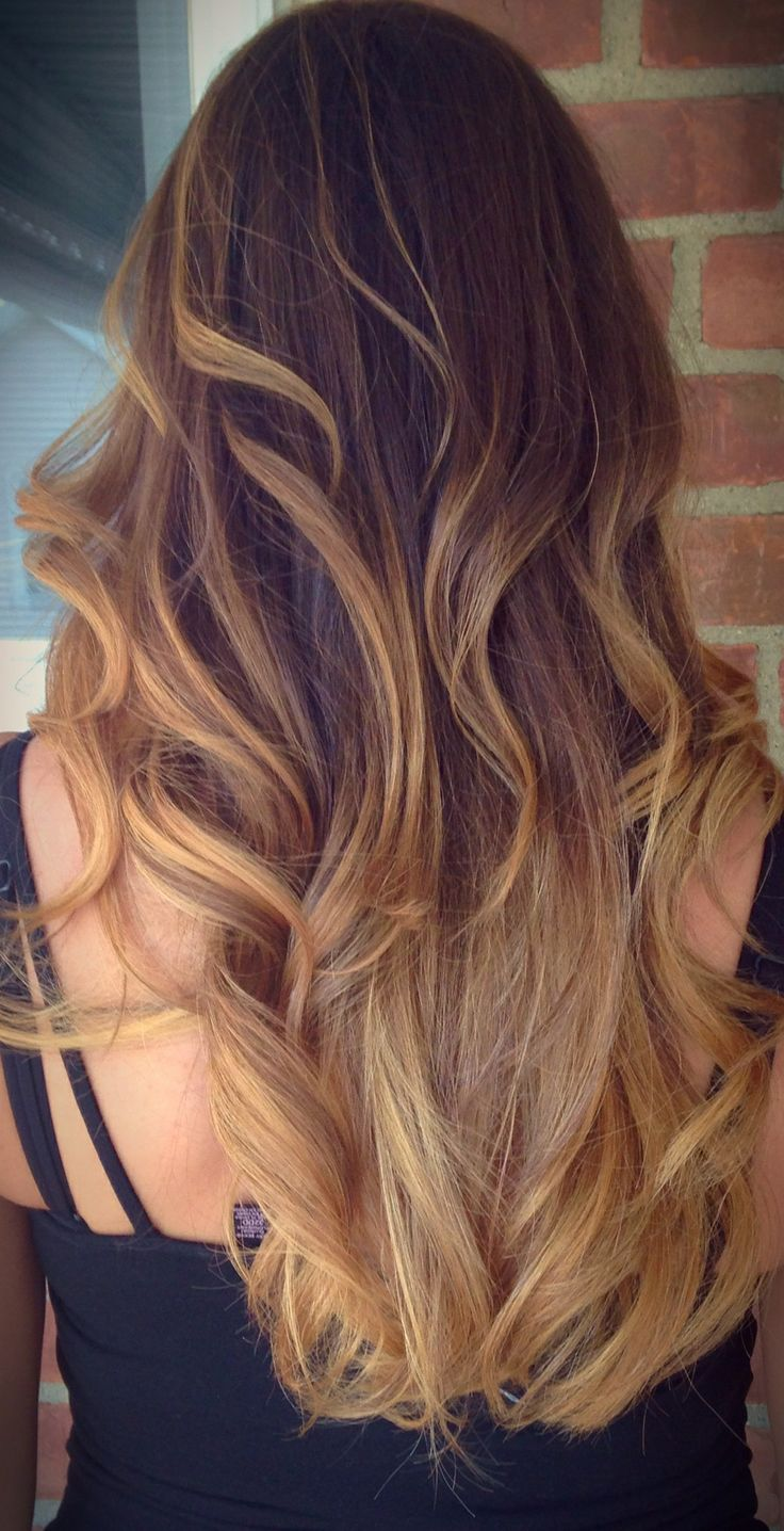 My fab new hair!!!!! Bayalage highlights and ombré