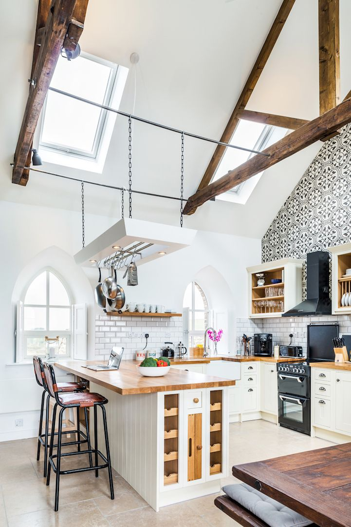 Charming Gothic-Style Chapel Transformed into a Stunning Holiday Cottage - My Modern Met