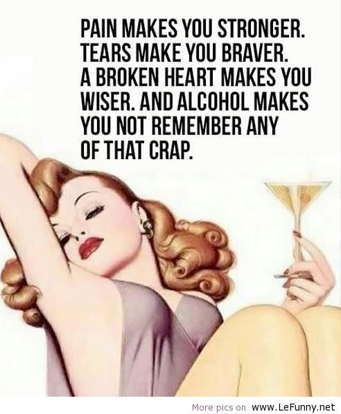 Pain makes you stronger – Funny Quote   Funny Pictures   Funny Quotes   Funny Jokes – Photos, Images, Pics
