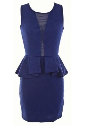 The 2013 Blue Peplum Dress