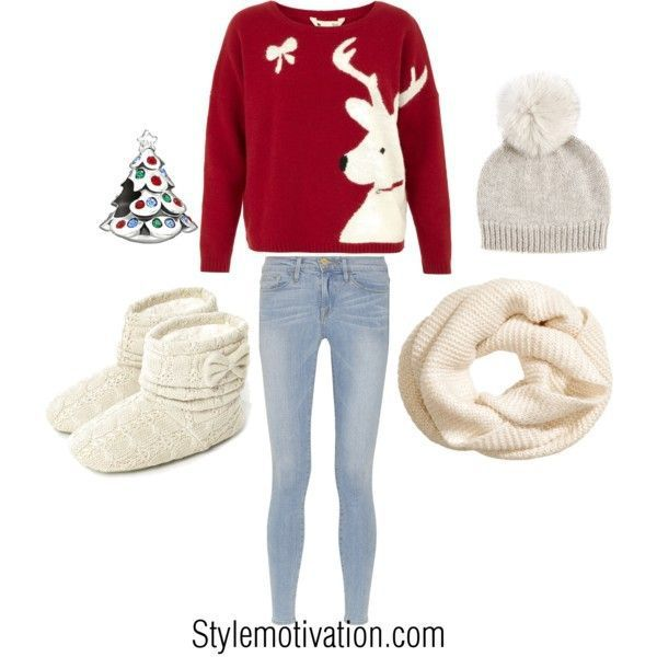 Cute Christmas Outfit Idea