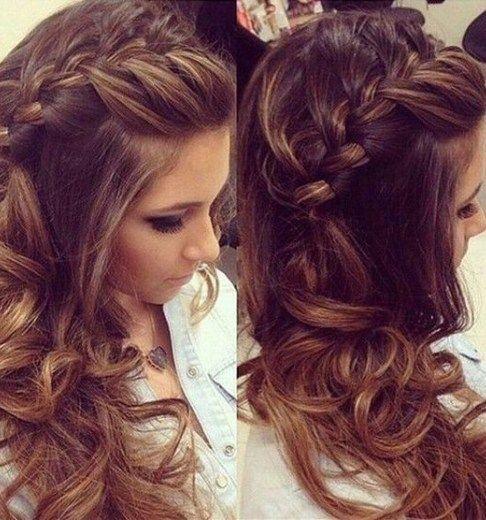 18 Elegant Hairstyles for Prom 18 Elegant Hairstyl+#Elegant #Hairstyles #Prom