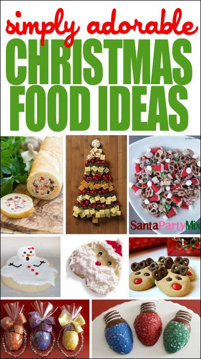 Ooh, loving these simply adorable Christmas Food ideas! Now let's see if I can actually pull one of them off...