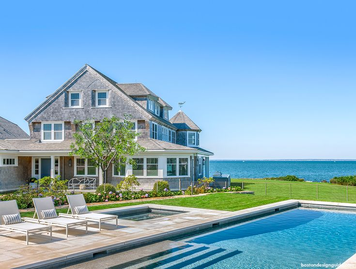 126 best images about waterfront living on pinterest for Cape cod beach homes