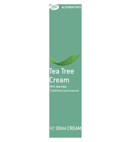 Boots Tea Tree Cream 30ml | Traditional and natural - Boots