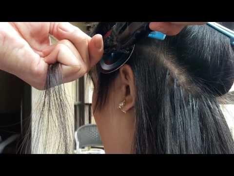 Mega Hair nó Italiano (amarrado) - YouTube