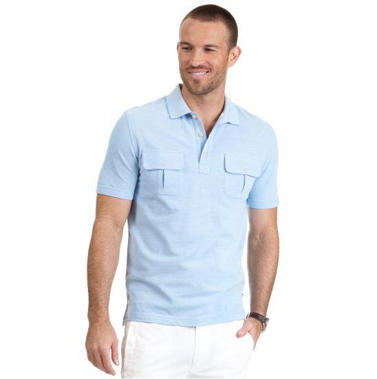 27 best men 39 s spring summer images on pinterest for Two pocket polo shirt