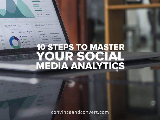 10 Steps to Master Your Social Media Analytics #digitalmarketing