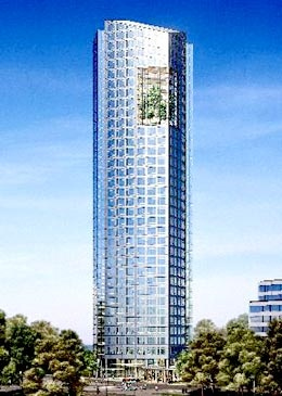 Sin duda, es el detalle más llamativo de la torre donde la petrolera española alojará a todas sus funciones administrativas y gerenciales.