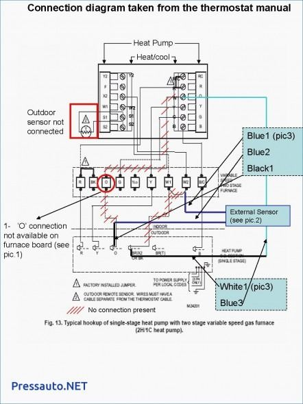 Basic Wiring Diagram For Heil Furnace Wiring Schematic
