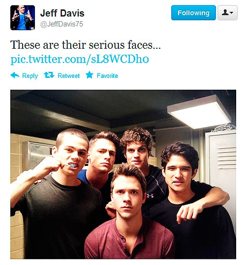 Serious boys.  And then there's stiles.