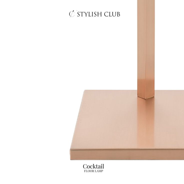 The gorgeous detail of the Cocktail floor lamp.