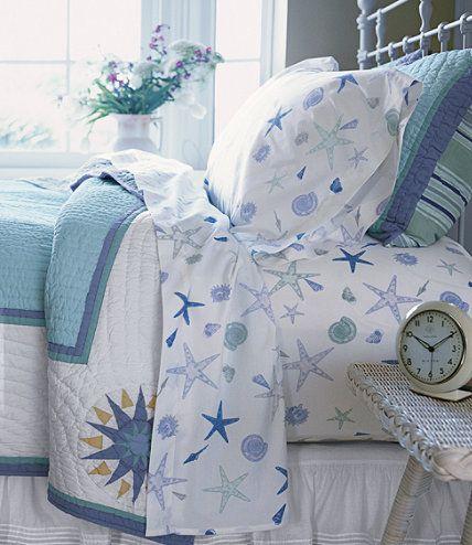 Seashell Percale Sheet Set Sheet Sets Free Shipping At