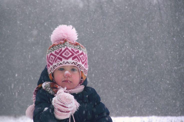 www.dziewczynkazguzikiem.com #girl #littlegirl #winter #Snow