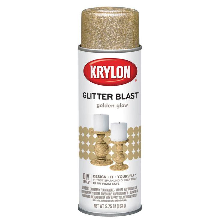 ORDRED - Krylon® Glitter Blast™, Golden Glow