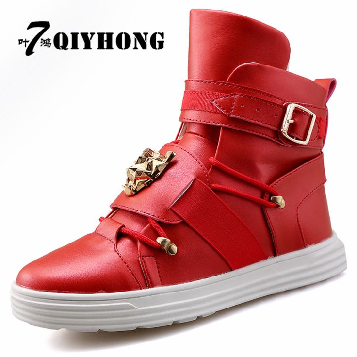 ==> [Free Shipping] Buy Best QIYHONG High Top Casual Shoes Men Trainers Superstar Basket Online with LOWEST Price   32798078023
