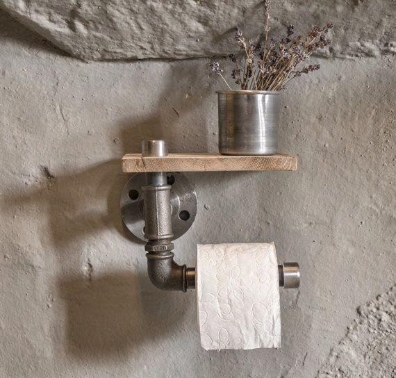 industrielle rustikale Badezimmer industrielle von eskidenvol2