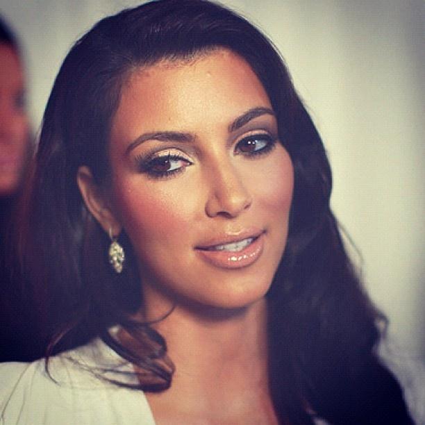 Kim Kardashian -Makeup | Black hair girl | Pinterest ... Kim Kardashian Wedding