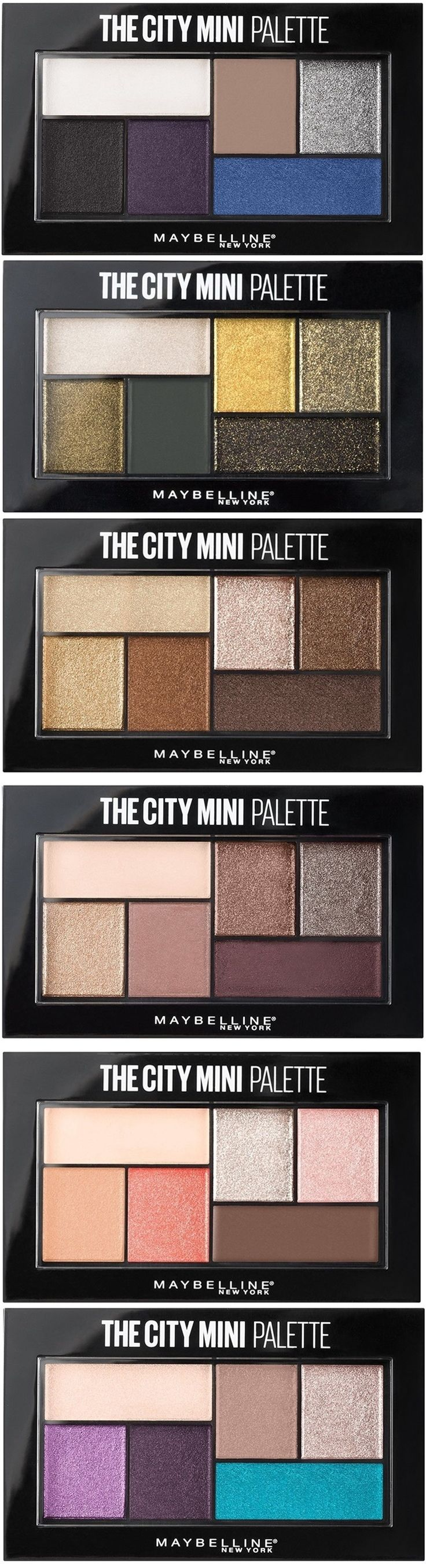Maybelline's New $7.99 The City Mini Palette