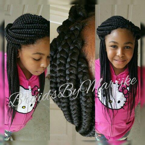 Kids box braids!