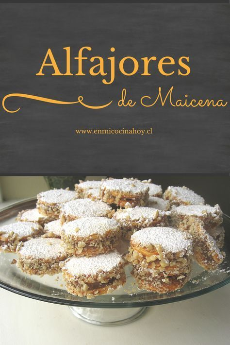 Los alfajores de maicena son muy populares en Perú, Chile y Argentina. Esta receta es deliciosa, la galleta se deshace en la boca. Perfecta para regalar.