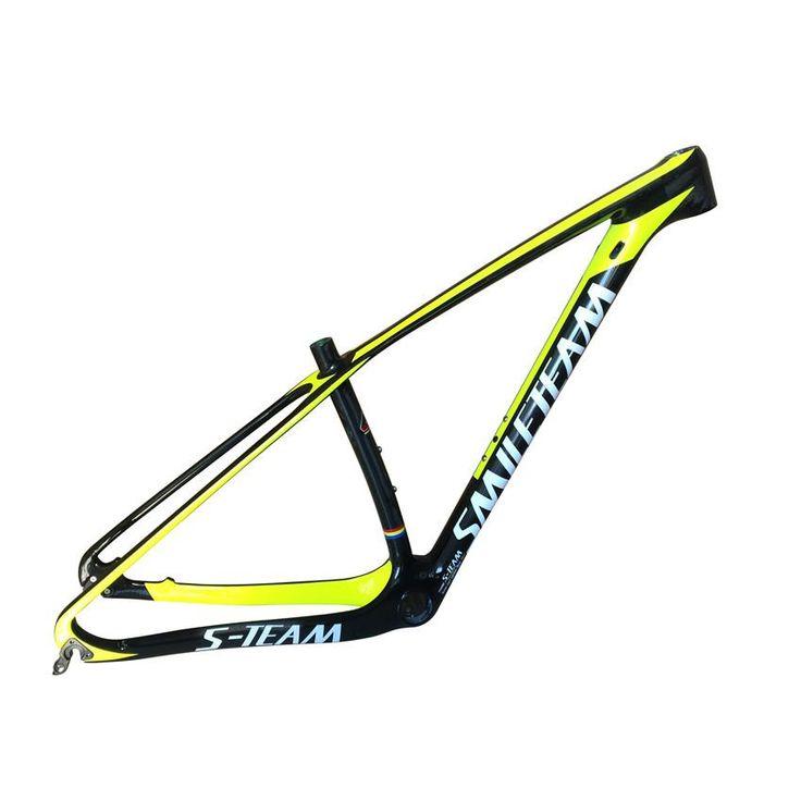 Smileteam T1000 Full Carbon MTB Frame 29er MTB Carbon Frame 29 Carbon Mountain Bike Frame 142*12 or 135*9mm Bicycle Frame