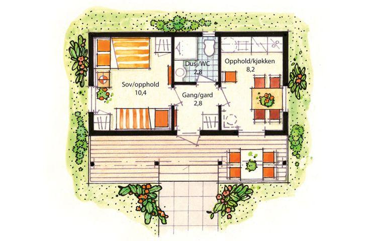 Image result for plantegning anneks