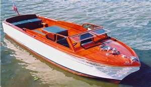 Chris Craft Sportsman Wood Boat