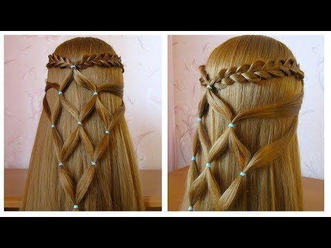 Styles de cheveux pour l'école coiffure pour école / collège coiffure Tuto facile à faire vous-même (sim ... - #college #hairstyle #school # styles #yourse