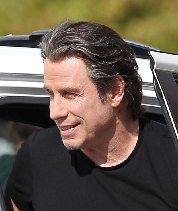 John Travolta's Natural Hair? Of course! ;) (?) Im sure it is now