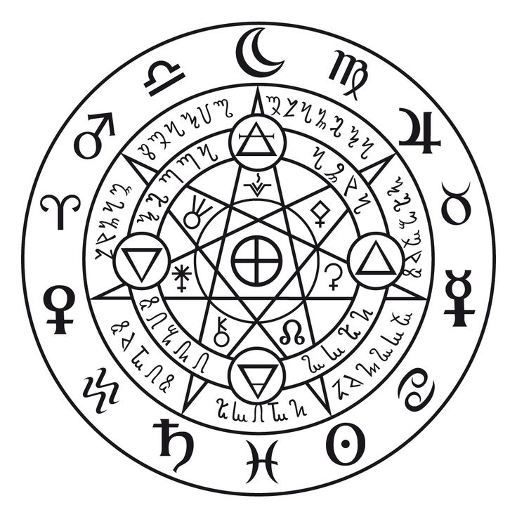 Sorcery And Magic Symbols