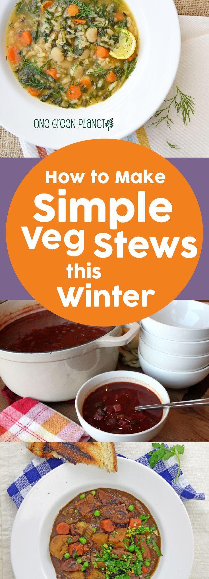 How to make simple veg stews  #vegan #vegetarian