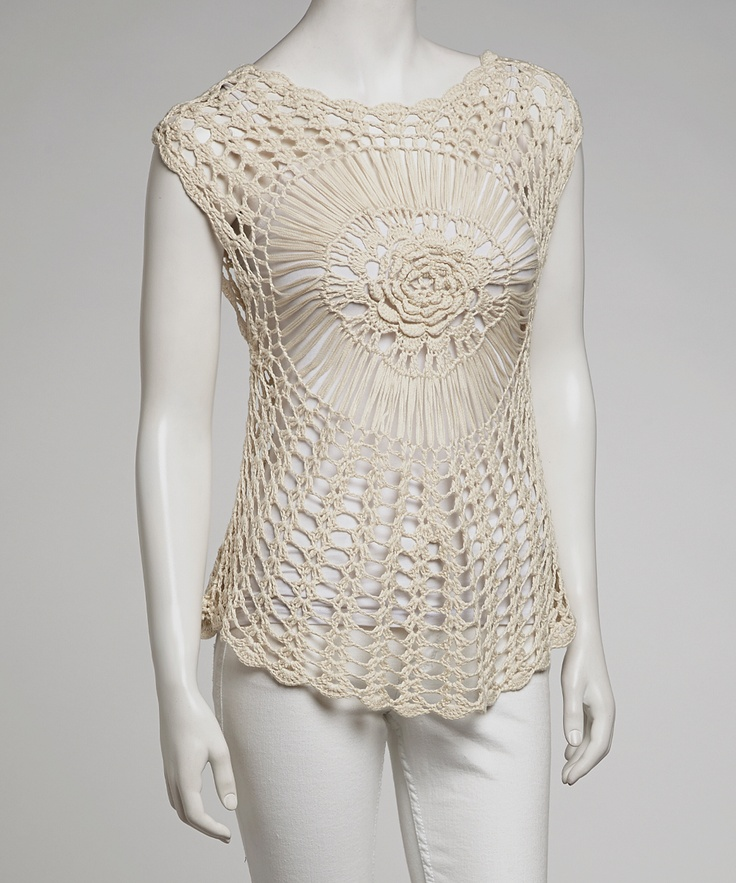 17 Best images about Crochet Blouse/ Sweater on Pinterest ...