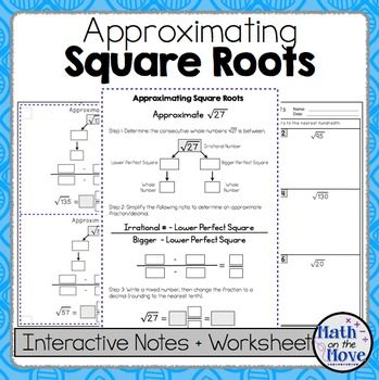 17 Best ideas about Square Roots on Pinterest | Math formula chart ...