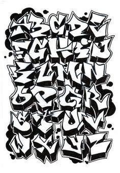 20 Tipos De Letras Para Dibujar Graffitis Y Goticas Taringa Graffiti Alphabet Styles Graffiti Alphabet Graffiti Lettering