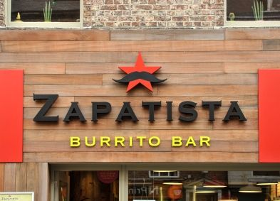 Zapatista Ridley Place, view from outside