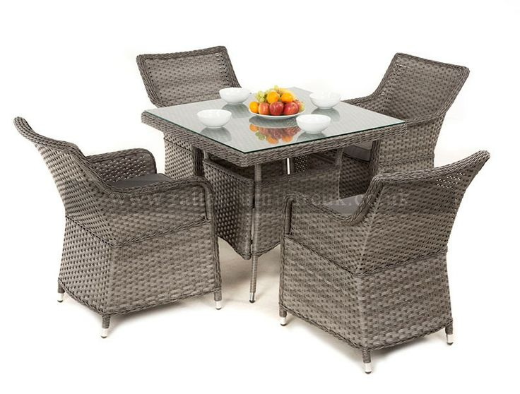 this stunning victoria rattan garden dining set will look stunning in any garden setting comes