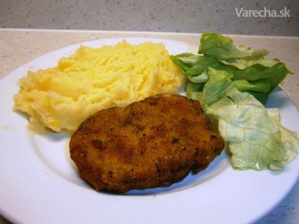 Mleté bravčové mäso so syrom a šampiňónmi (fotorecept) - Recept