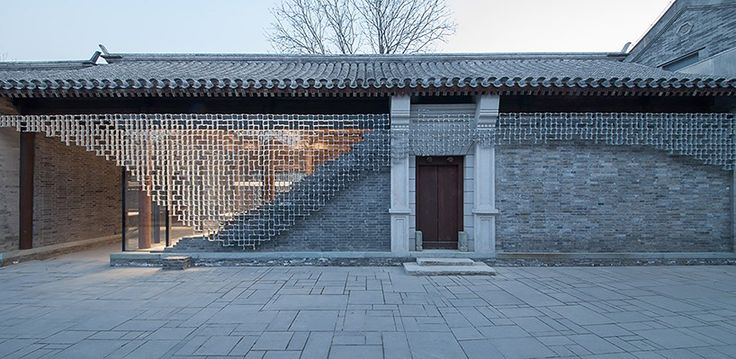 the project sees the respectful renovation of classical ming-styled courtyard houses in order for them to adapt to modern day uses.