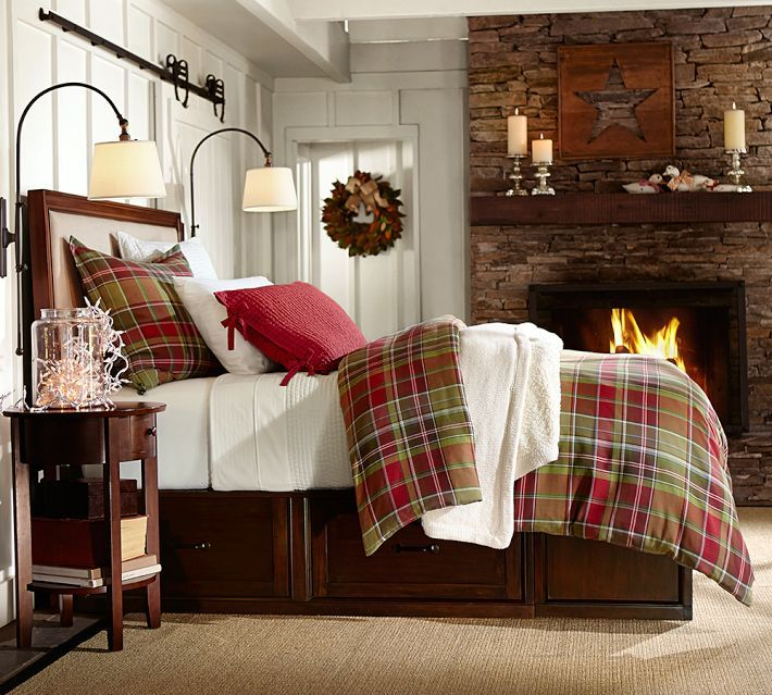 Best 25+ Plaid bedroom ideas on Pinterest | Lodge bedroom, Winter ...
