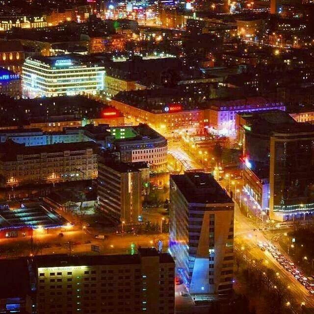 Widok ze Sky Tower :) #Wrocław#Sky#Tower