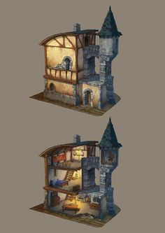 Photo: the sorcerer's house !