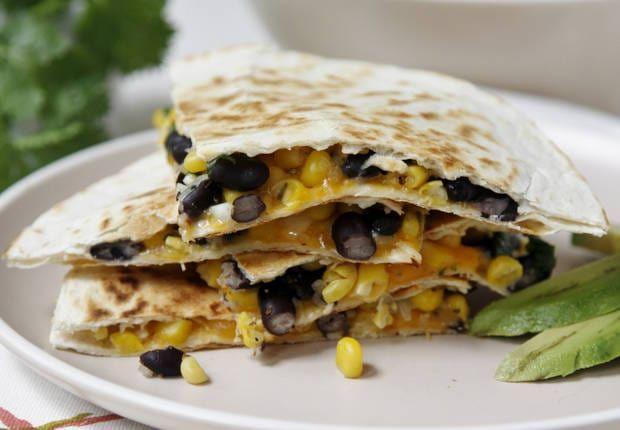 Blogger Paula Jones of bell'alimento shares a family-friendly recipe for black bean and corn quesadillas.